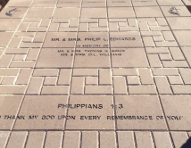 EBF continueous engraving across multiple pavers 8.31.15 wee